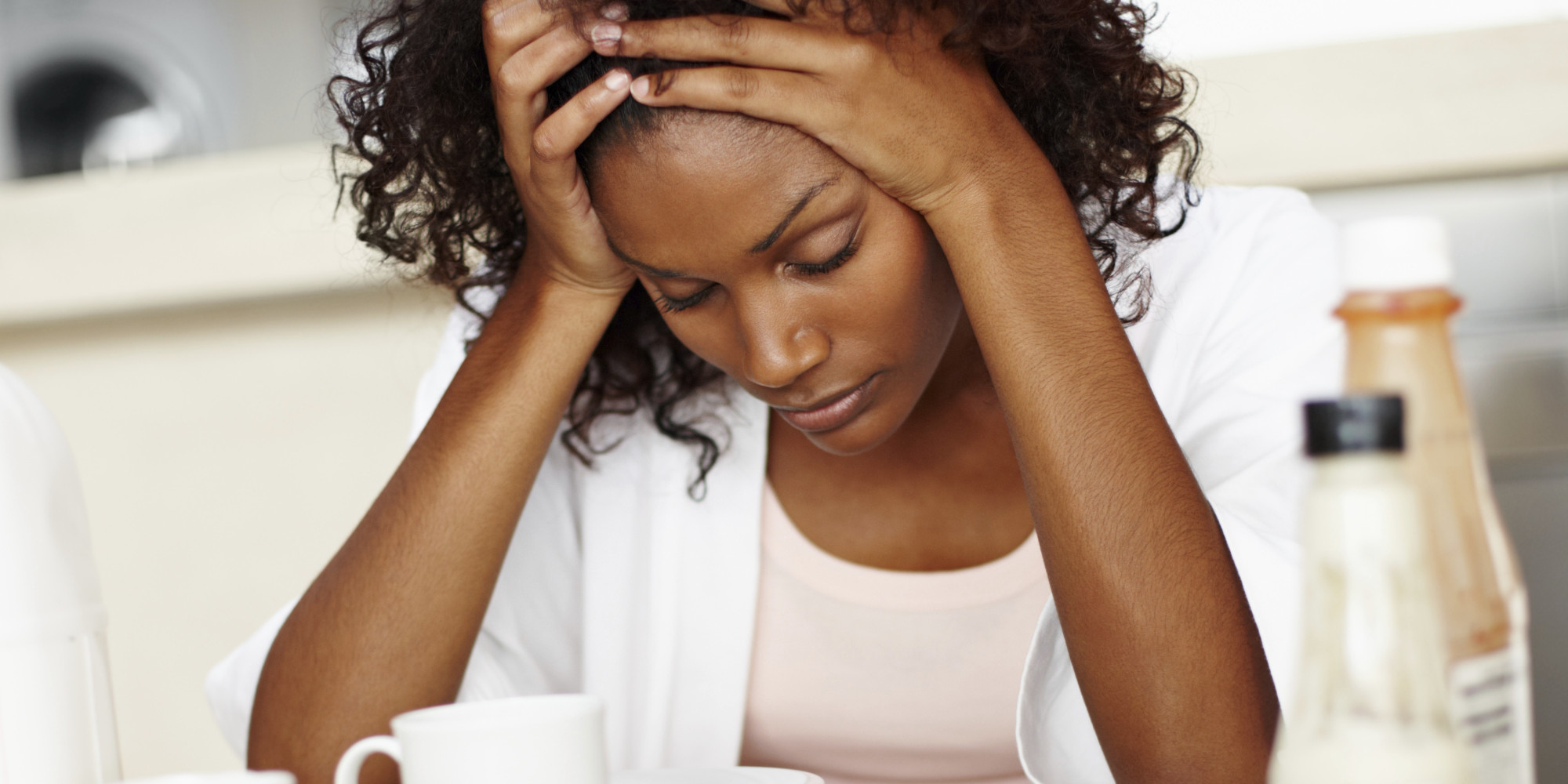 Image result for stressed black woman