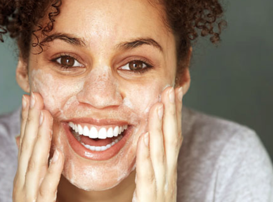 Prevent Acne with Cleansing
